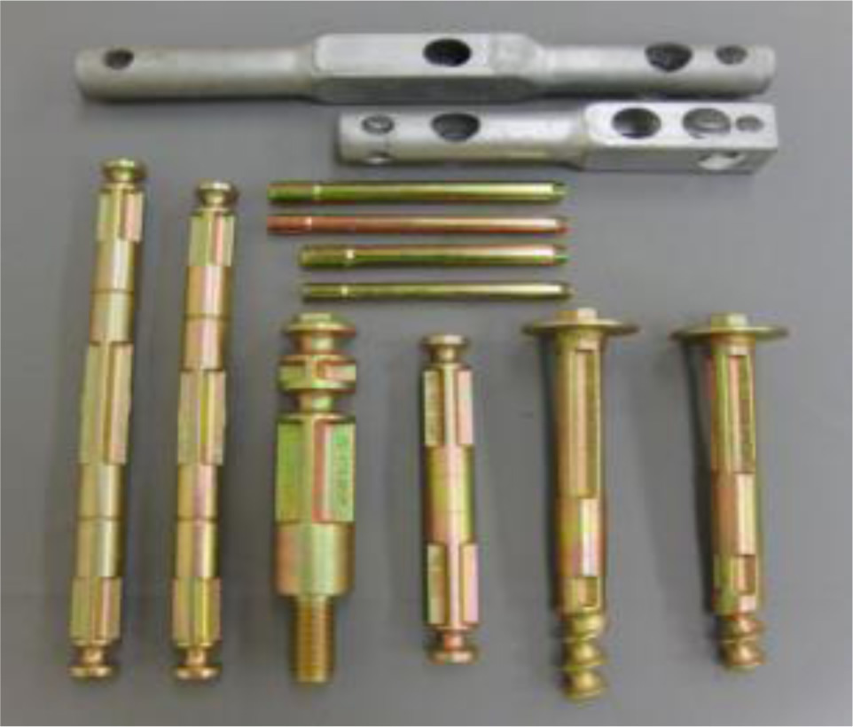 金物の主素材にはダクタイル鋳鉄+鋼を使用